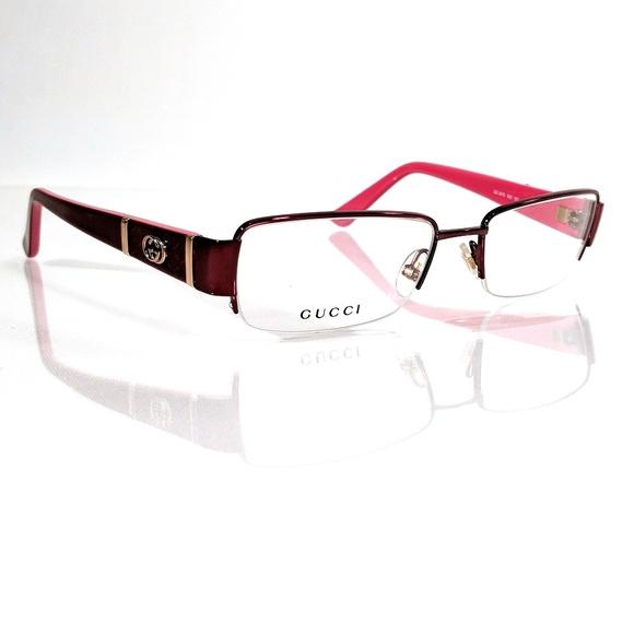 6d1f5b9fb9 GUCCI GG 2878 Red Eyeglasses Frame